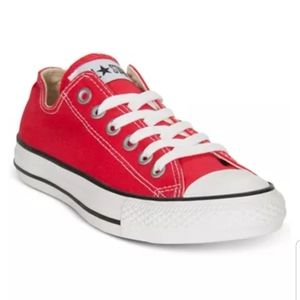 Converse All Star Chuck Taylor's- Ox Red